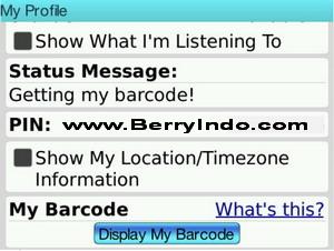 barcode blackberry messenger